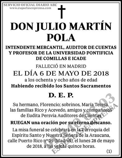 Julio Martín Pola